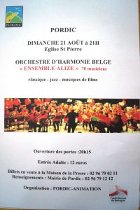 concert à Pordic