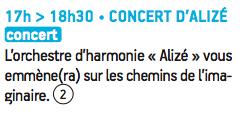 concert rosières