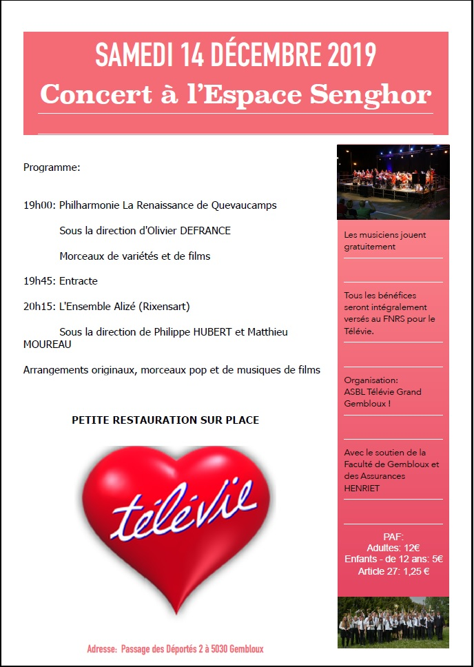 concert televie